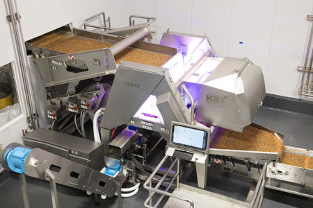 Caro Nut Company improves product quality, increases yield with Key Technology sorter
