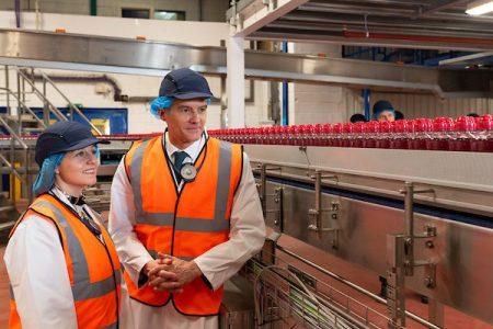 £13m line opens at Lucozade Ribena Suntory Coleford factory