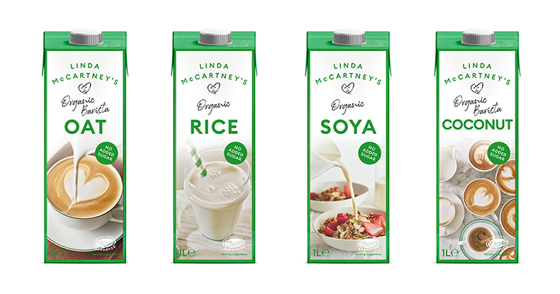 Linda McCartney's announces launch of first ever plant-based drinks