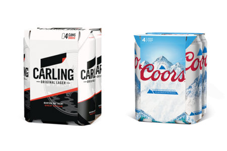 Molson Coors removes plastic rings from all major brands