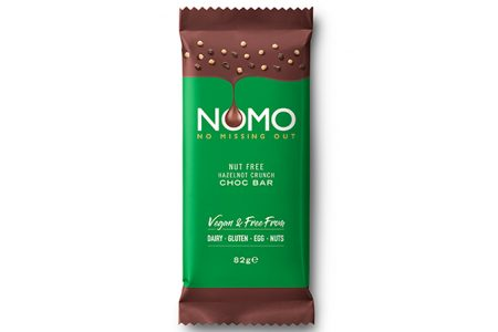 NOMO introduces first ever nut free 'Hazelnot' chocolate bar