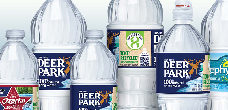 Nestlé Waters North America expands use of 100% rPET in additional bottled water brands