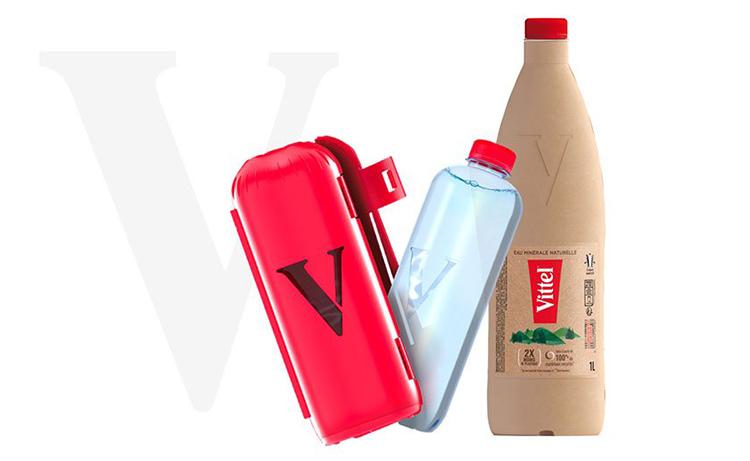 Nestlé develops new packaging for Vittel natural mineral water bottles