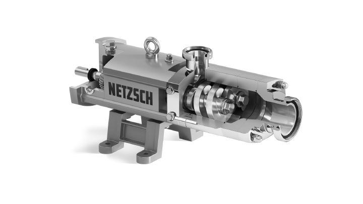 Netzsch Pumps & Systems develops multi-screw pump for hygienic applications