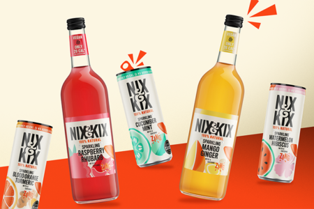 Nix and Kix unveils brand redesign and new raspberry rhubarb flavour