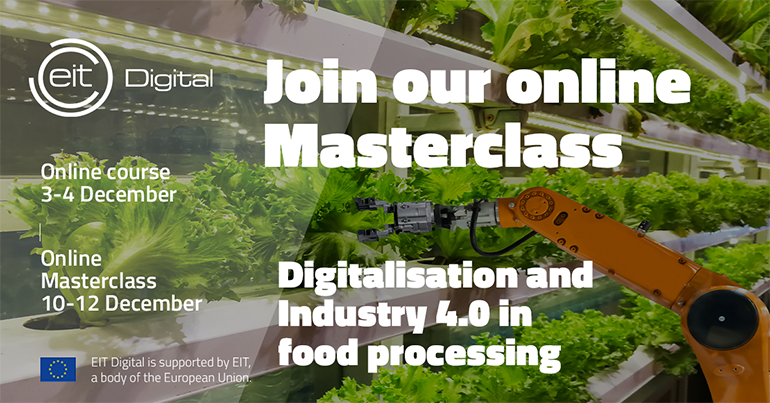 Digitalisation and Industry 4.0 in Food Processing