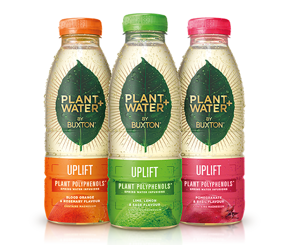 Buxton launches new plant polyphenol infused water