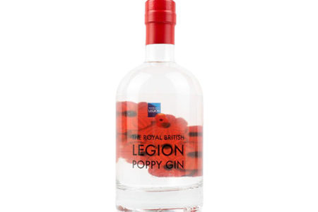 Burleighs Gin creates The Royal British Legion Poppy Gin