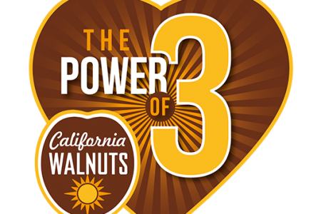 "The California Walnut Commission launches global ""Power of 3"" campaign"