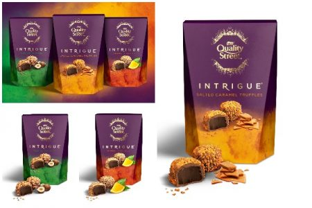 Quality Street launches Intrigue – a range of indulgent chocolate truffles