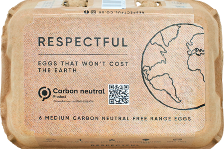 UK's first carbon neutral eggs go on sale