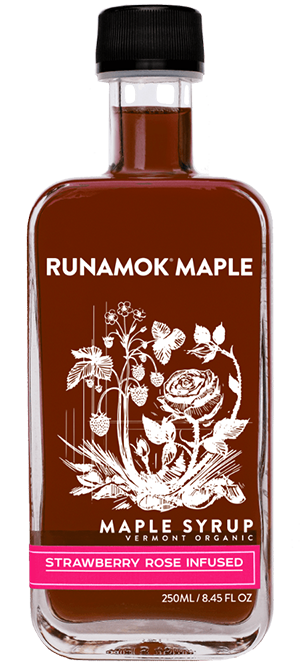 Runamok Maple releases limited-edition Strawberry Rose Infused Maple Syrup