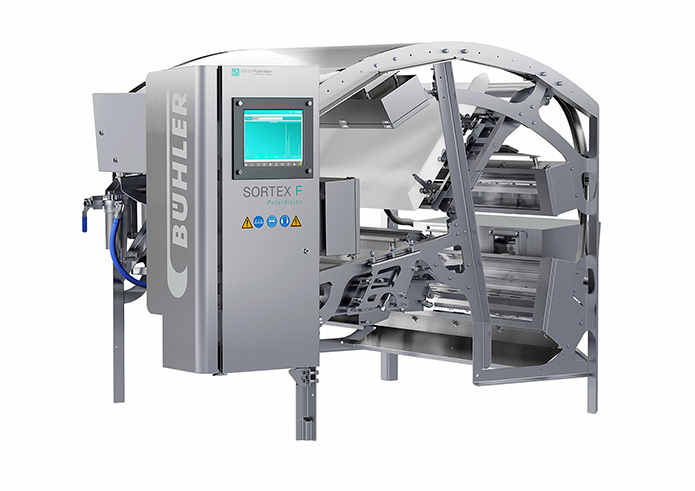 Bühler's SORTEX FA series assists in management of increased product demand for Fine Foods