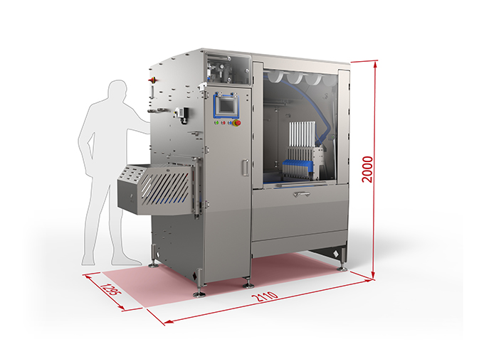 Interfood Technology ensures safe cutting with new compact bandsaw