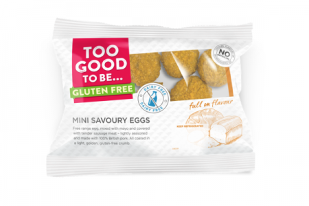 Too Good To Be Gluten Free presents snack packs