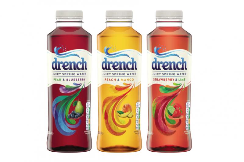 Britvic overhauls Drench brand