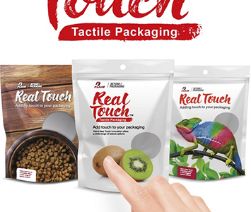 Flair Flexible Packaging introduces tactile packaging innovation at Expo West