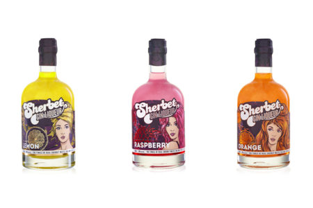 Sherbet Gin Liqueur encourages nostalgia with retro range
