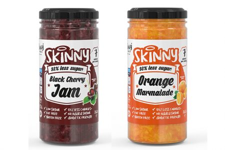 The Skinny Food Co announces two new additions to jam range