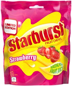 Wrigley unveils Strawberry Starburst