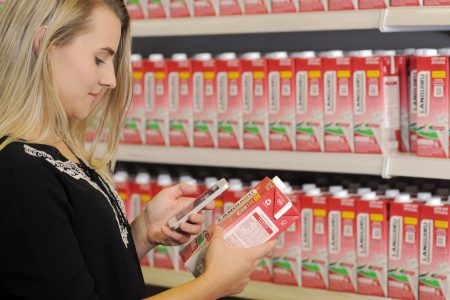 Digital solution for traceability and marketing