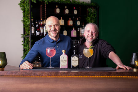 Tappers Gin collaborates with Simon Rimmer on new Ticked Pink Gin
