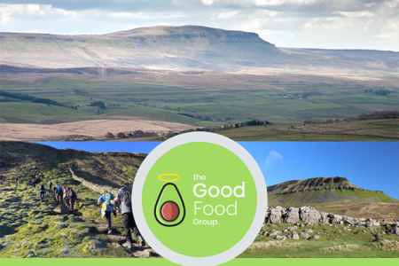Food group commits to boosting mental health service with hiking challenge