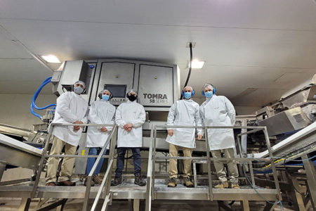 Chilean company installs Tomra 5B sorter in berry processing plant