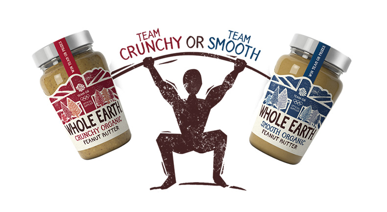 Whole Earth Foods launches Team GB sponsorship campaign