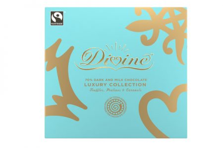 Divine Chocolate unveils luxury collection