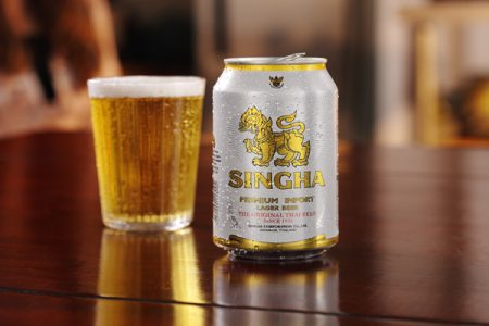 Singha Beer celebrates Thai New Year with UK can launch