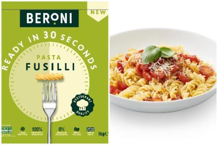 Beroni brings fresh frozen restaurant-quality pasta to the UK