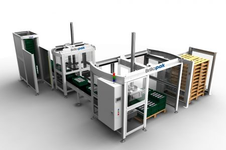 Compact solution to fresh produce palletising