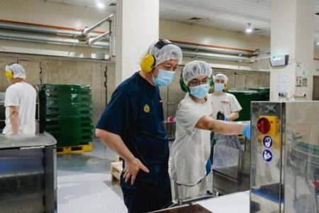Barry Callebaut enlarges Singapore's chocolate factory with fourth production line