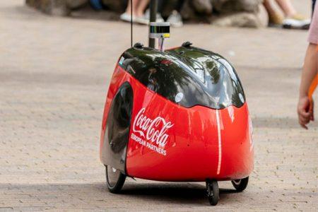Coca-Cola explores robot delivery service