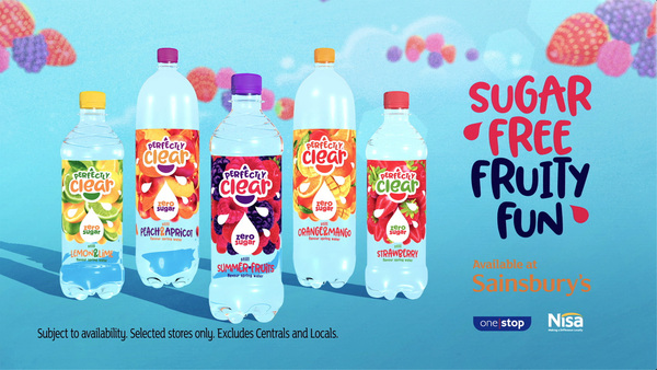 Perfectly Clear continues to drive flavoured water market with new TV campaign
