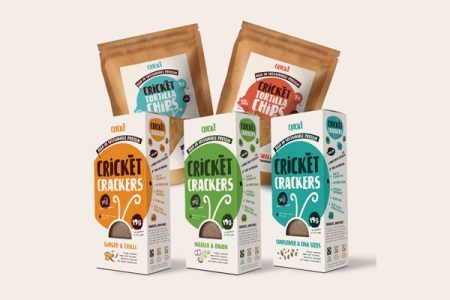 Crické, insect-based snacks