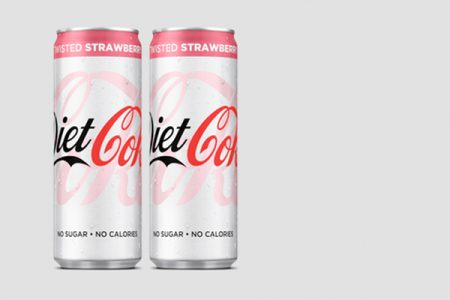 Diet Coke launches Twisted Strawberry