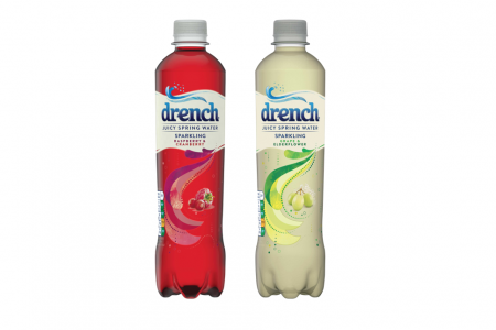 Britvic unveils new PET format for Drench Sparkling