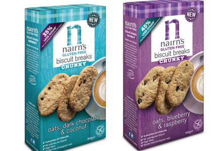 Nairn's Oatcakes expands gluten-free range