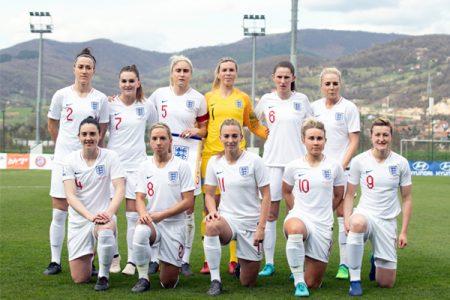 Budweiser official partner of England Women's Football Team