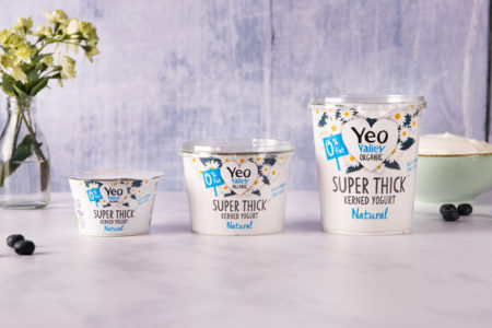 Yeo Valley yogurt pot launches with Faerch