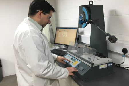 SteriTouch brings detectable properties to food processing equipment