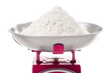 Balance of flour