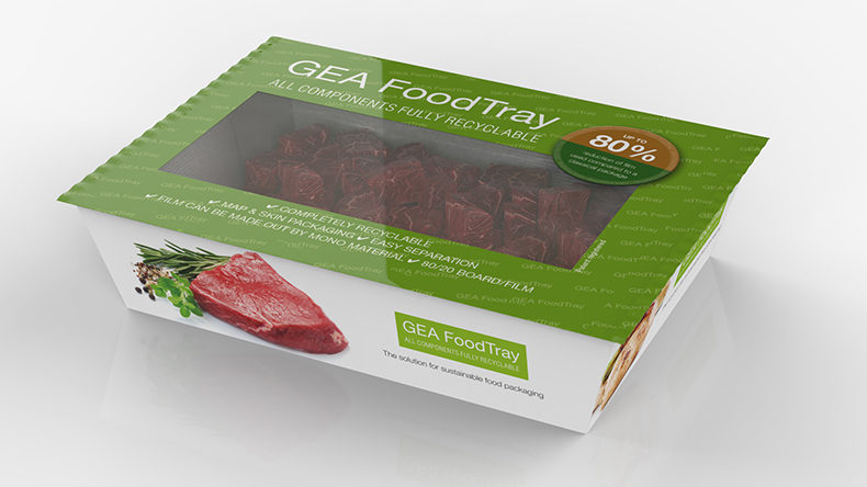 GEA FoodTray provides greener packaging, less plastic for meat manufacturer