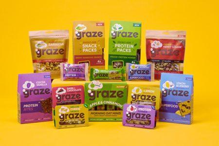 Unilever acquires snack brand, graze