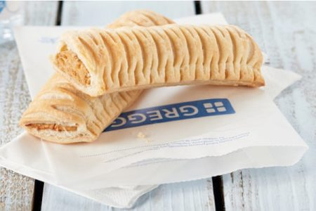 Greggs launches vegan sausage roll