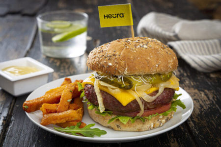 Heura releases plant-based burger with innovative fat analogue