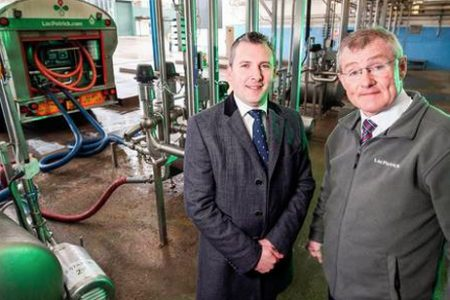 LacPatrick opens dairy facility in N.Ireland