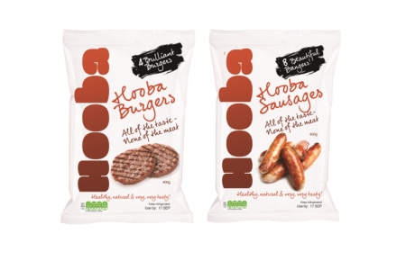 Meat-free product range